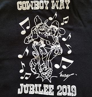 black CW Jubilee 2019 Tshirt