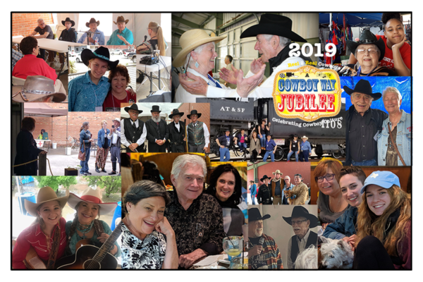 2019 Cowboy Way Jubilee Commemorative Poster