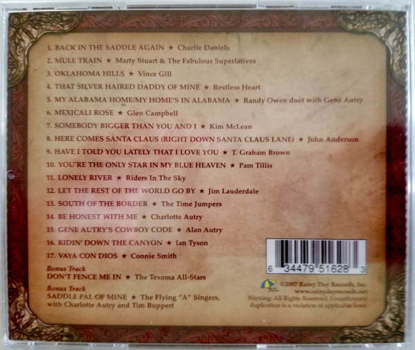 Boots CD Back